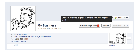 Choose A Cover Image For Your Facebook Page