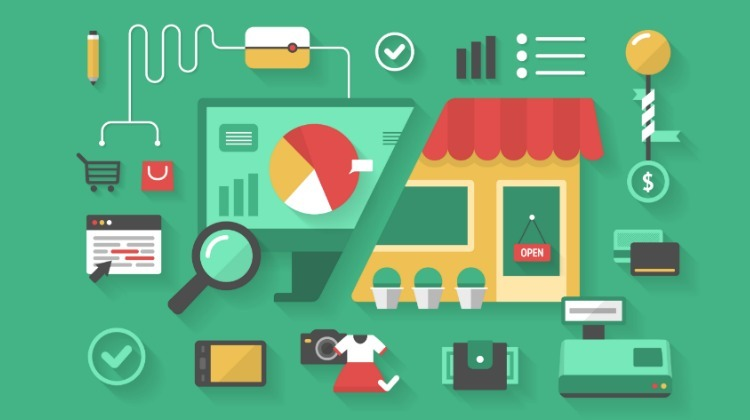 The concept of making choice between e-commerce and traditional store shopping