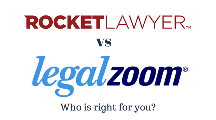 Rocket Lawyer vs LegalZoom: Who is right for you?