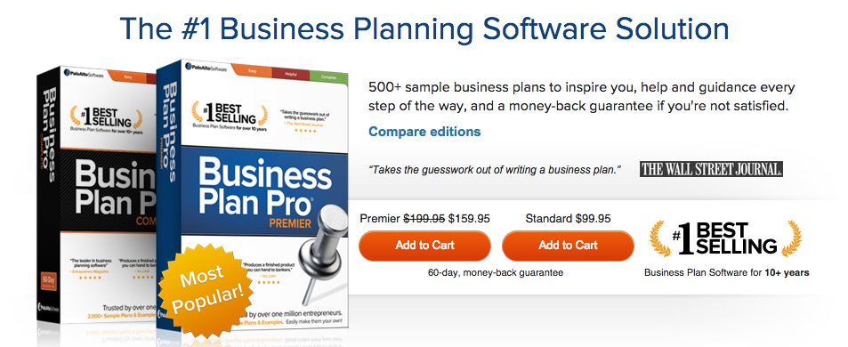 Business plan software reviews
