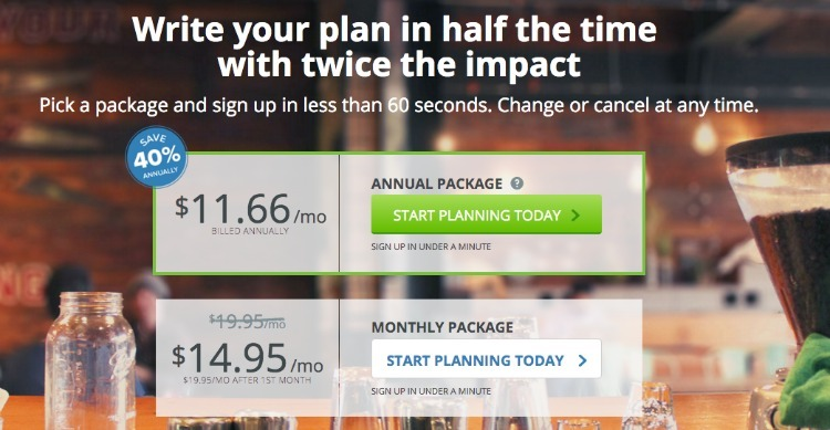 LivePlan Promo Code and Pricing