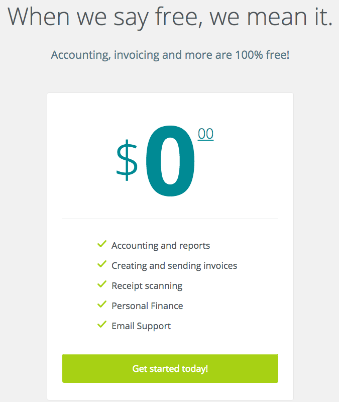 Wave Accounting Pricing