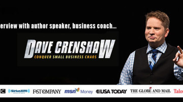 Dave Crenshaw Interview: Taking Back Your Time & Life
