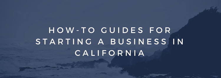 HOW TO GUIDES CALIFORNIA