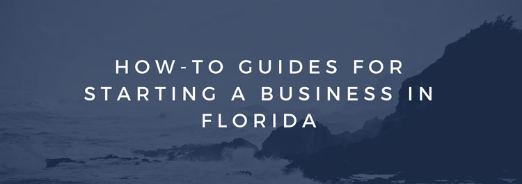 How to guides for starting a small business in Florida