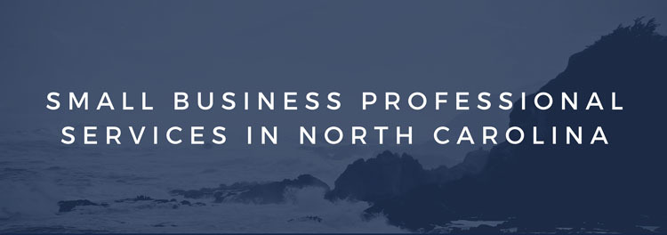 Small Business Professional Services in North Carolina