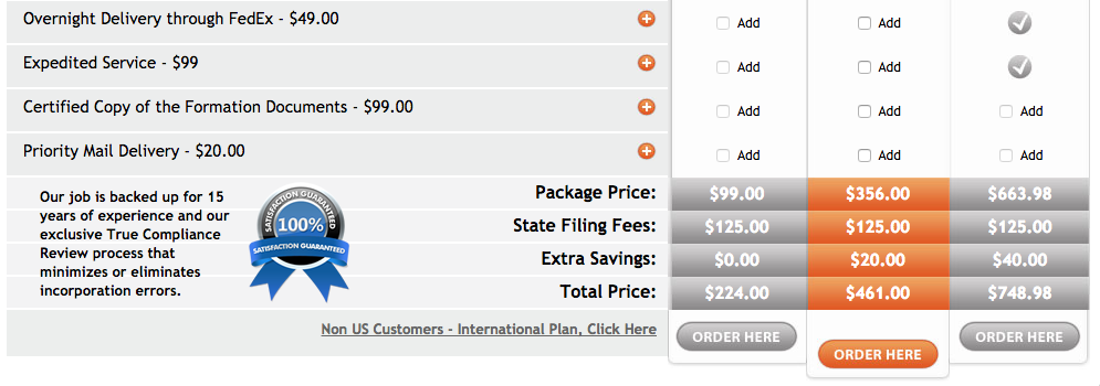 ActiveFilings Pricing