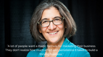 An Interview with Ilise Benun: Speaker, Author & Founder of Marketing Mentor