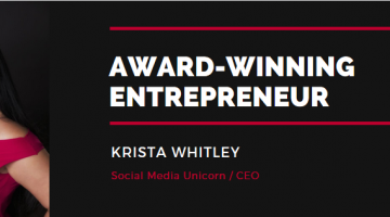 An Interview with Krista Whitley: Award-winning Entrepreneur & CEO of Social Media Unicorn