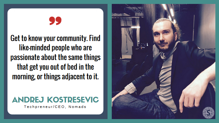 Andrej Kostresevic Interview