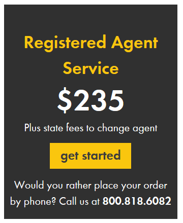 Incorporate.com Registered Agent Services Pricing