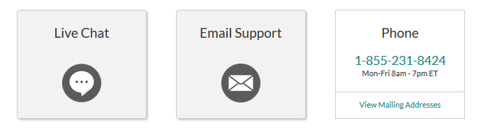 LawDepot Customer Support Options