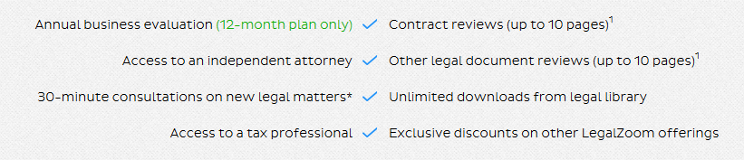 LegalZoom Legal Services