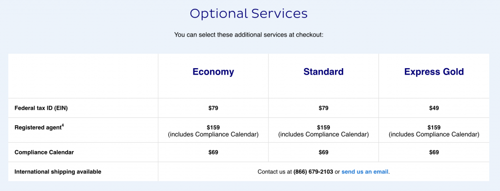 LegalZoom LLC Pricing and Features
