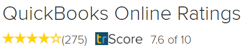 Quickbooks online ratings