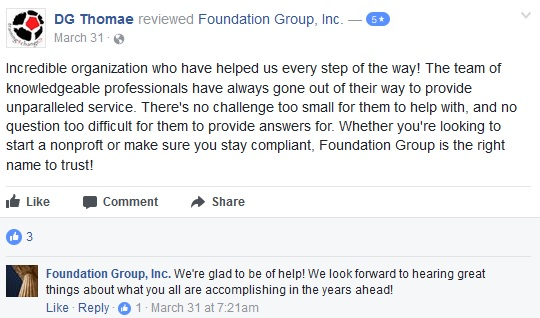 Foundation Group Online Reviews