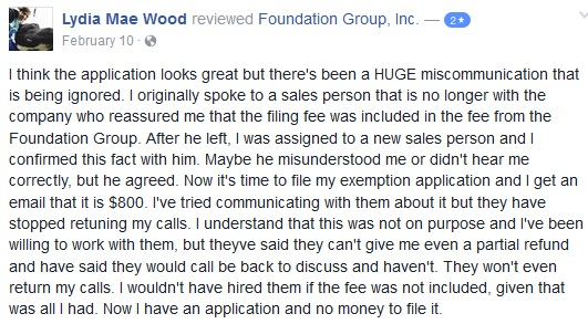 Foundry Group Customer Reviews 2