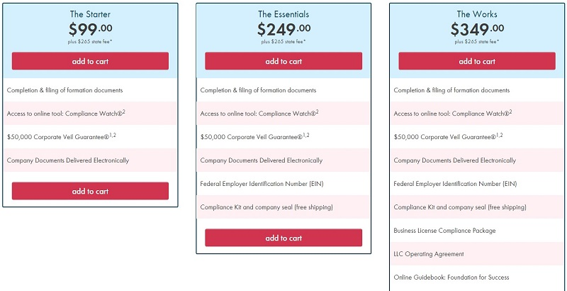 Incorporate com Pricing and Features New