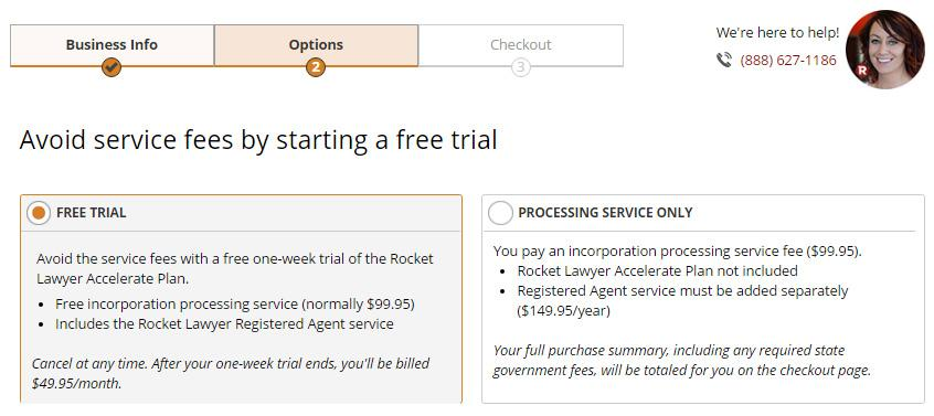 Rocket Lawyer LLC Free Trial