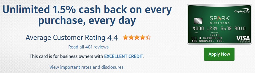 Capital one spark cash select review a good business credit card capital one spark cash select business credit card fees features colourmoves