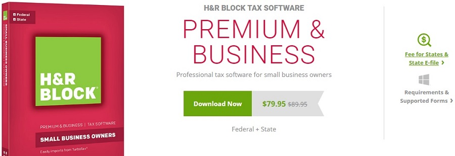 H&R Block Premium & Business Pricing & Features