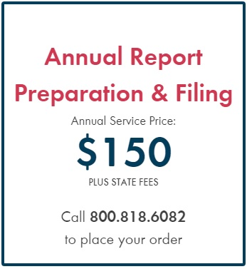 Incorporate.com Annual Report Filing Pricing