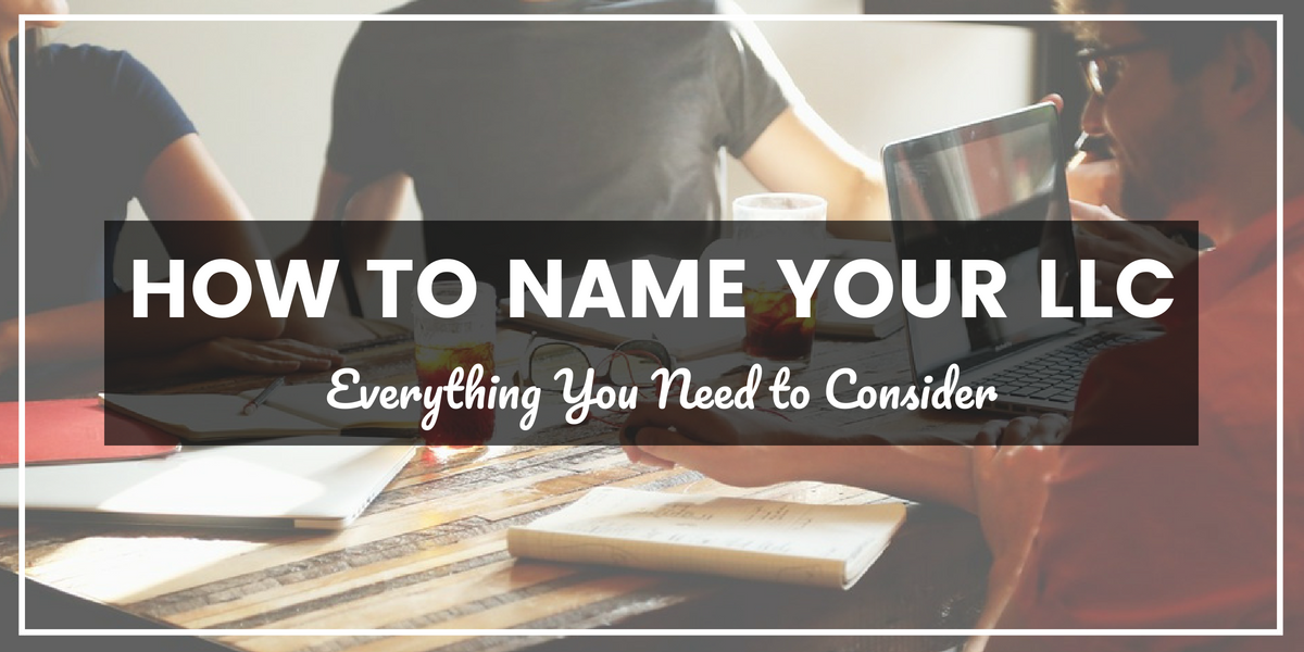 How to name your LLC