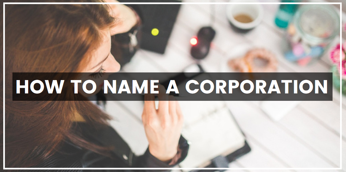 How to name a corporation
