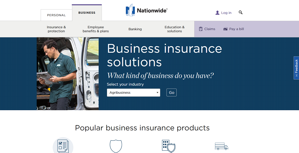 nationwide business insurance review